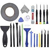24 In 1 Reparatur Öffnungs Werkzeug Tool Kit inkl. 50m Rolle 2mm doppelseitiges Klebeband...