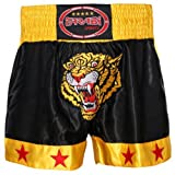 Farabi Sports Shorts für Muay Thai/Kickboxen, mit Tigermuster S
