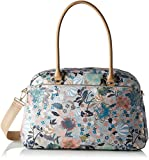 Oilily Damen Carry All Schultertasche, Beige (Melon Sorbet), 17.5 x 32 x 41 cm