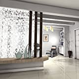 Kernorv White DIY Raumteiler Bildschirm aus umweltfreundlichem PVC, 12 PCS Einfache und moderne...