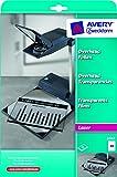 Avery Zweckform 3562 Overhead-Folien (A4, spezialbeschichtet, stapelverarbeitbar, Stärke: 0,10 mm)...
