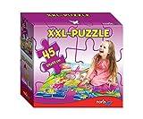 Noris Spiele 606038001 Riesenpuzzle Feenland, 45 teilig