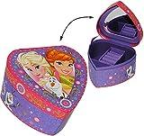 Schmuckkasten - mit Spiegel - ' Disney die Eiskönigin - Frozen ' - Herz Form - Mädchen - Utensilo...