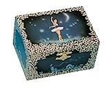Musicboxworld Spieluhrenwelt Kinder-Schmuckdose Ballerina Spielt die Melodie Ballerina 22004