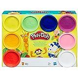 Hasbro Play-Doh A7923EU6 - Regenbogen, 8-er Pack