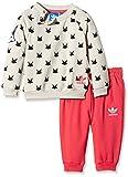 adidas Baby Trainingsanzug Magic Forest French Terry, Mist Stone F15-St, 74, AB1794