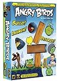 Mattel W2793 - Angry Birds, Brettspiel zur App