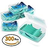 Zahnseide 300 Stk. Zahnseide Sticks Zahnstocher kunststoff Zahnpflege Dental Floss Zahnreiniger...