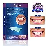 White Strips Foshine Zahnaufhellung Bleaching Strips 28pcs für Weiße Zähne,Zahnweiß...