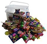 Süßigkeiten – Mix Party Box ohne Schokolade 192-teilig, für Kindergeburtstag mit 6 Kinder, 1er...