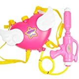 Da Jia Inc Baby Spielzeug Sommer Wasserpistole Karton pinker Herzen Rucksack Wasser Spritzgewehr...