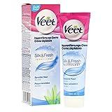Veet Haarentfernungs-Creme Sensitive, 100 ml