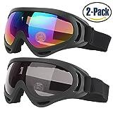 Skibrille, Snowboard Brille, UV-Schutz, Skate Brille Mit UV 400 Schutz Winddicht Und Staubdicht Für...
