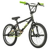 Probike, BMX 20 Zoll, Freestyle Bike, BMX, 360° Rotor-System, 4 stahl Pegs, Kettenschutz, Freilauf...