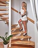 foto-kontor Anti Rutsch Streifen für Treppen und Stufen selbstklebend schwarz 18 Stück...