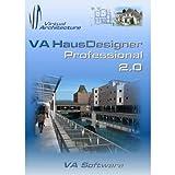 VA HausDesigner Professional 2.0 3D CAD Hausplaner & Zeichenprogramm - auch nutzbar als...