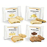 Supplify Protein Soft Cookie- Fitness Snack aus Whey Eiweiß Pulver- Mix-Box 6 Kekse á 40g -...