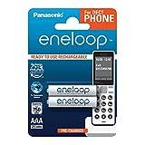 Panasonic eneloop, Ready-to-Use Ni-MH Akku, AAA Micro, 2er Pack, min. 750 mAh, 2100 Ladezyklen,...