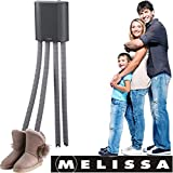 Melissa 16540011 Schuhtrockner elektrisch, Stiefelwärmer, Gummistiefel,Wanderschuhe,Skischuhe,...