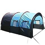 Ancheer Tunnelzelt 6 Personen Wassersäule Familienzelt Camping Zelte 480 x 310 x 210cm