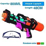 RETON Riesige Big Super Shoot Soaker Squirt Spiele Wasserpistole Action Wasserpistole (800ML)