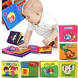 Yosoo Soft Tuch Baby Buch Spielbuch Puzzlebuch Geeignet für 3 Monate bis 3 Jahre alte Kinder, ca.10...