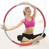 cusfull Beschwerter Hula Hoop 2,2Pfund Profi für Fitness, Training und Gewicht Verlust,...