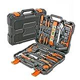 Werkzeugkoffer für Haushalt 50 tlg Werkzeugkasten bestückt mit Qualitätswerkzeug, ideal für...