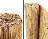 Schilfrohrmatten Premium 'Beach', 140 hoch x 600cm breit, ein Produkt von bambus-discount -...