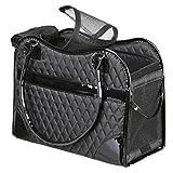 Trixie Tasche Amina für Hunde schwarz 18× 29× 37cm