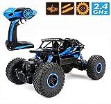 Ferngesteuertes Autos,CrossRace RC Auto Rock Crawler,1:18 Monstertruck,4WD Elektrisches Offroad...