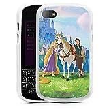 Blackberry Q10 Hülle Silikon Case Schutz Cover Disney Rapunzel ? Neu verföhnt Merchandise...