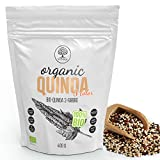 VITNA Organic Quinoa 3-farbig (Weiß, Rot und Schwarz), reich an Antioxidantien, 1er Pack (1 x 400...