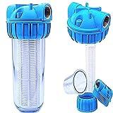 Basal PRIESER Pumpen-Vorfilter, Wasserdurchfluss bis 5.000 l/h mit Wandhalterung und...