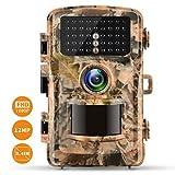 Wildkamera Campark FHD 1080P 12MP Jagdkamera Gartenkamera 2.4' Farbe LCD 120° Weitwinkel Vision...