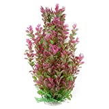 46cm Rhodo künstliche Aquarium Deko Pflanzen Wasserpflanzen Aquariumpflanzen
