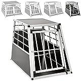 TecTake Alu Hundetransportbox -diverse Größen- (Single Groß)