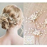 Haarschmuck Brautschmuck Haarnadeln - 3pcs Art und Weise Retro Elegante Damen Perlenrhinestone...