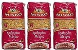 3x 500 g Set Reisnudeln Mittel aus Griechenland Hartweizennudeln Hartweizen griechische Reis Nudeln...
