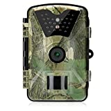 OutLife Trail Kamera, 12MP 1080P HD wasserdichte Infrarot-Spiel-Kamera mit IR-LEDs...
