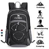 CAMEL Wandern Rucksack leichte Reise Packable langlebig wasserdicht Sport Daypack, für Camping...