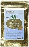 Schwarzes Maca Pulver, roh – 500g – bio- zertifiziert, traditionell angebaut und geerntet in...