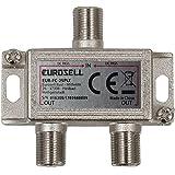 Digitaler 2-fach SAT Antennen Kabel TV BK Verteiler Splitter HDTV 2fach F Verteiler Fernsehen...
