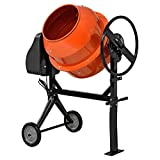 [in.tec] Betonmischer (140 Liter-2800 U/Min-550W) Betonmischmaschine Zementmischer Mörtelmischer -...