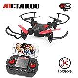 Metakoo Mini Drohne mit Kamera Live Übertragung RC Quadrocopter Ferngesteuertes Flugzeug 2.4Ghz...
