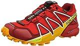 Salomon Herren Speedcross 4 GTX Trailrunning-Schuhe, Rot (Fiery Red/Red Dalhia/Bright Marigol), 47...