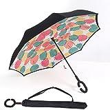 BP @ Regenschirm faltbar mit innenliegende Riverso umgekehrt sehr nützlich bei Regen Fenster...