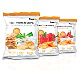 Protein Chips – Eiweiß Fitness Snack Mix Box 6x50g Von Supplify – Whey Proteinpulver und...