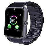 Yamay Bluetooth Smartwatch Uhr Intelligente Armbanduhr Fitness Tracker Armband Sport Uhr...