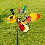 Windspiel - Magic Butterfly - UV-beständig und wetterfest - Windrad: Ø38cm, Motiv: 46x18cm,...
